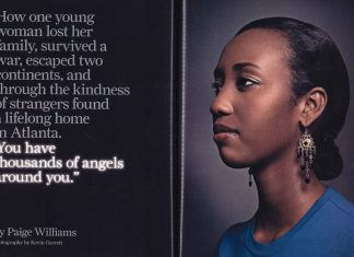 You have thousands of angels around you Atlanta Magazine