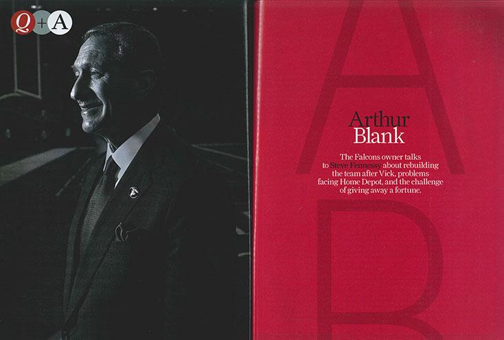 Interview: Arthur Blank