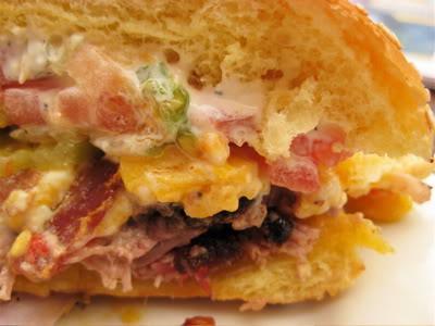Fox Bros burger