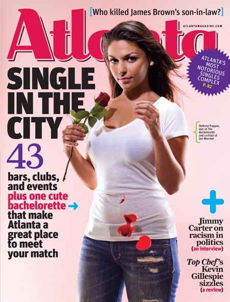 Looking at dating magazine