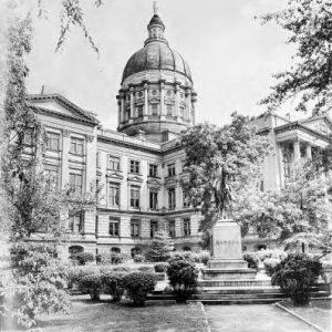 Georgia Capitol, circa 1940