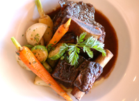 Braised beef short rib at Joli Kobe Kitchen