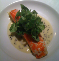 New king crab leg dish at the Lawrence