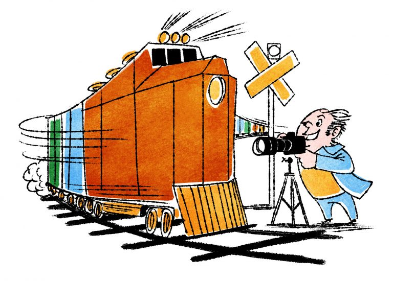 20. Go trainspotting