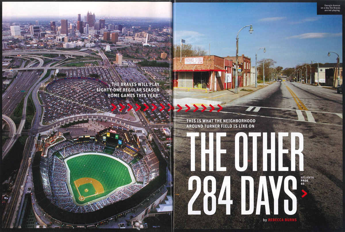 the other 284 days turner field