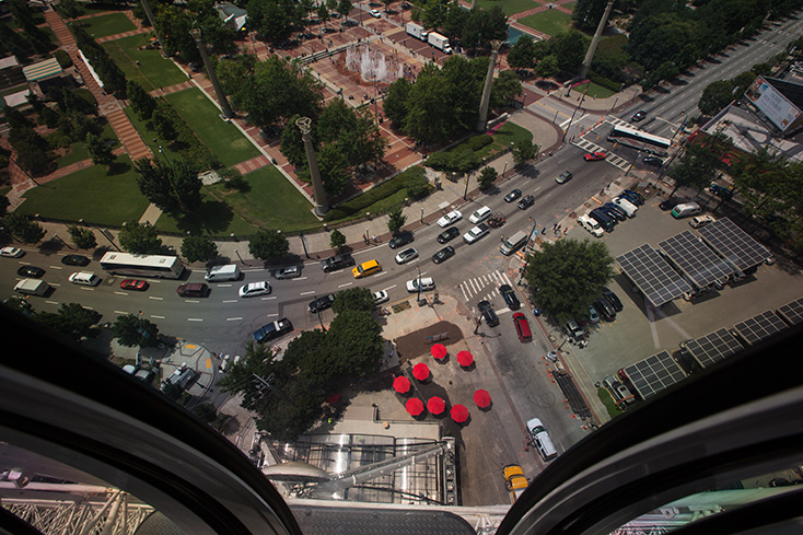 A ride on Downtown's new SkyView Ferris wheel