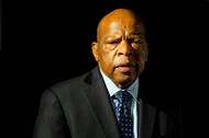 Profile of the Congressman John Lewis, from the 5th district of Georgia, a civil rights leader and the last surviving speaker from the March on Washington