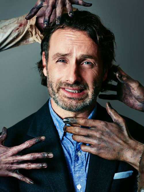 Outtakes from Andrew Lincoln and Norman Reedus cover photo ...