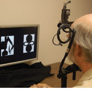 The Neurotrack test uses eye-tracking to detect Alzheimer's disease symptoms.