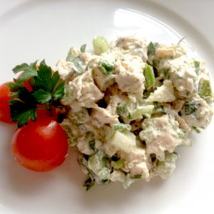 Chicken salad at Cafe Jonah