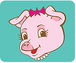 Pink-pig-rounded