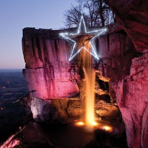 Enchanted Garden of Lights at Rock City in Lookout Mountain