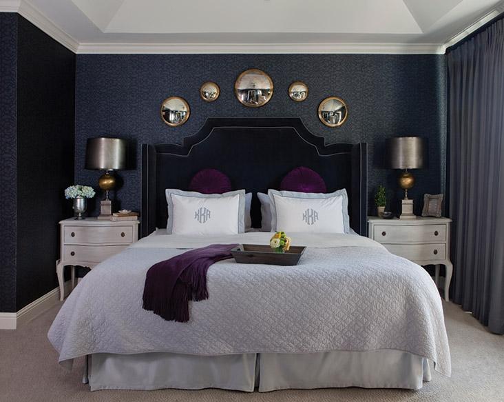 Boudoir decor. Boudoir decor  Kristin Kong s stylish master bedroom   Atlanta