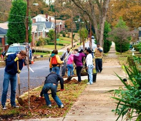 Planting No. 100,000 for Trees Atlanta