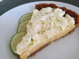 Fresh Lime Pie with Gingersnap-Pecan Crust - Atlanta Magazine