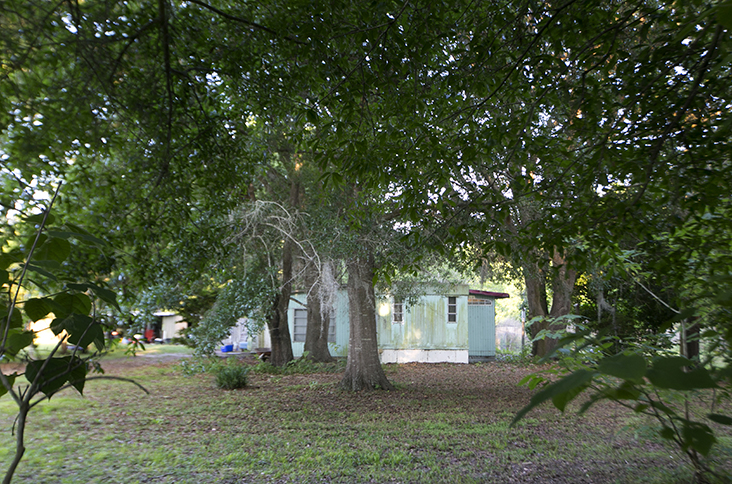 The trailer where Price was living in Citra, Florida, before his arrest on December 31 of last year