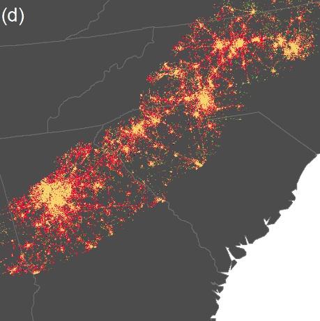 The potential Atlanta-Charlotte mega region