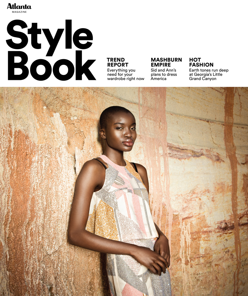 Fashion Book Cover Quest ~ Introducing atlanta magazine style book