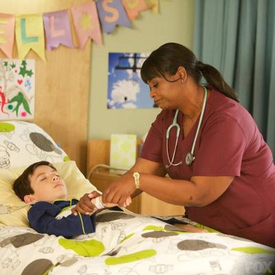 Octavia Spencer stars in Red Band Society, shot at the Woodruff Arts Center and other Atlanta locations.