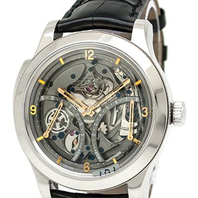 Most expensive watch at C&C: a Jaeger LeCoultre Master Grand Tradition Minute Repeater 151.3.67.S, with a MSRP of $250,000