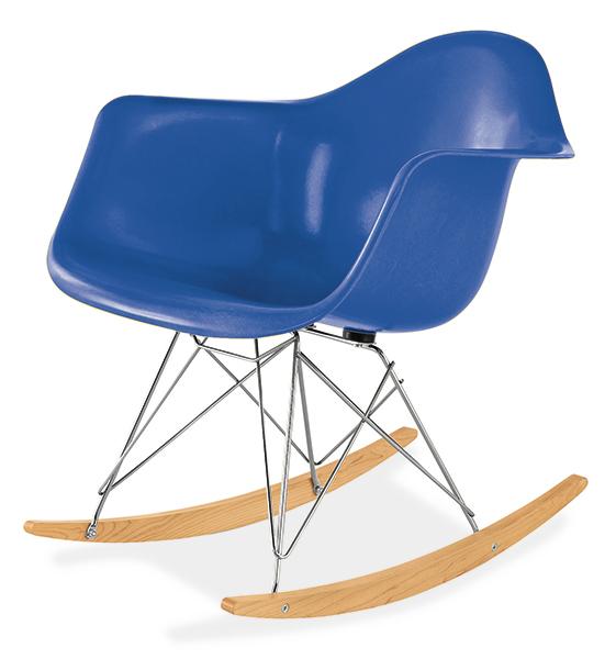 Eames Rocker In Ultamarine Blue By Herman Miller 619 Roomandboard Com
