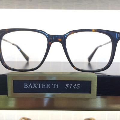 Baxter Ti, $145: the coffee-shop-er