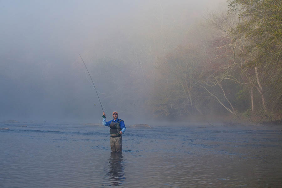 fly fishing north georgia atlanta magazine