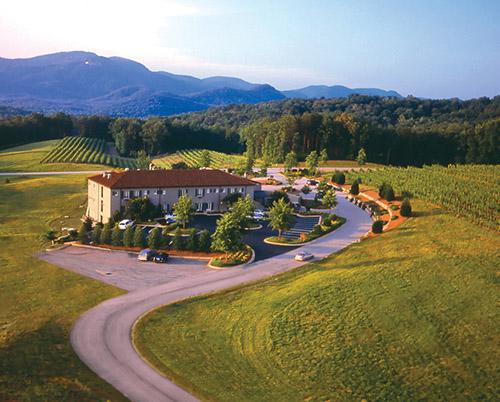 Though Set Among Open Fields The Inn Offers Mountain Views