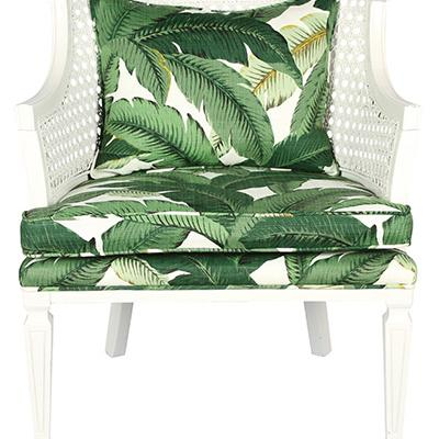 Barrel chair, $650, from Atlanta seller Ivy and Vine
