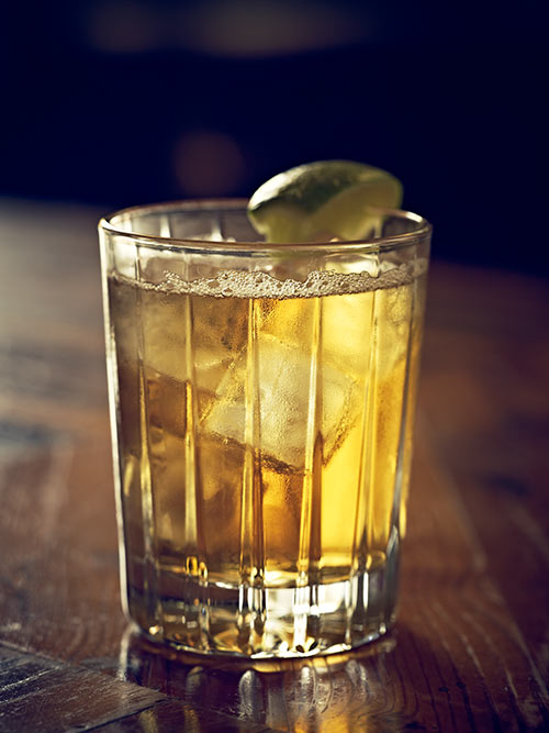 Blue Ridge Runner, make with Carolina Distillery's Carriage House Apple Brandy.