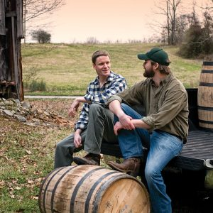 Charlie and Andy Nelson, Nelson's Green Brier Distillery