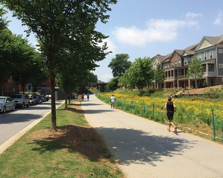3 scenic running trails in Atlanta
