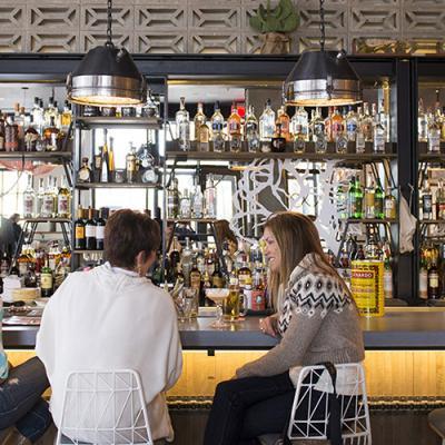 The bar at the El Felix