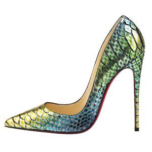 """So Kate"" python heel, $1,495"