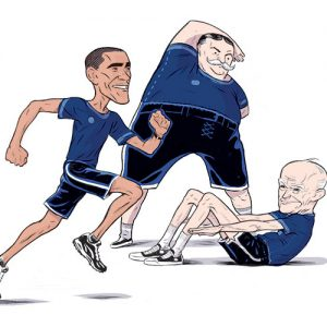 Obama, Taft, and Eisenhower. Guess which categories  they would meet?