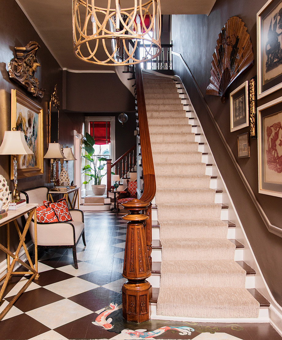 Victorian Style Foyer : Room envy a victorian foyer with modern twist atlanta
