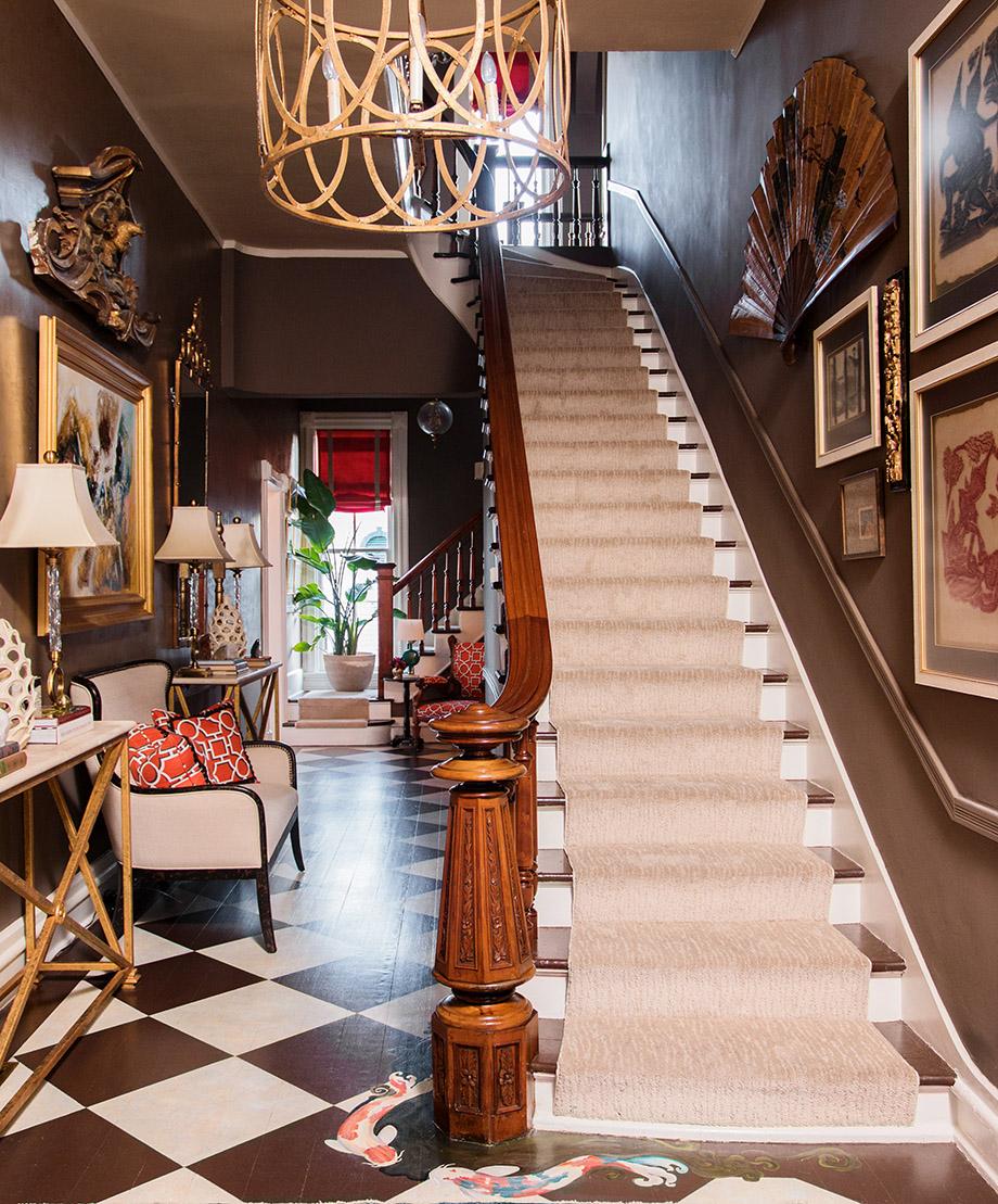 Victorian Era Foyer : Room envy a victorian foyer with modern twist atlanta