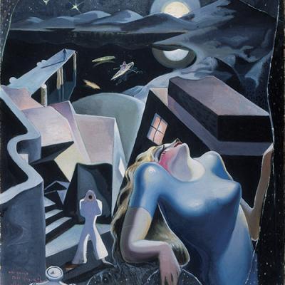 Composición, 1, 1930; oil on canvas