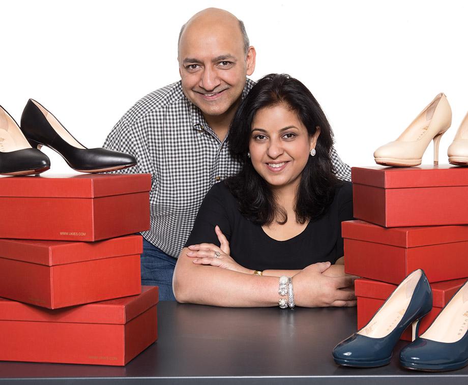 Umaesh and Kavita Khaitan of Ukies