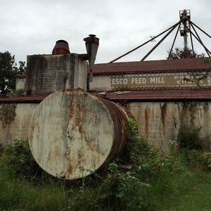 Though not featured in any Walking Dead episodes, this mill can be seen in season 4's opening credits.