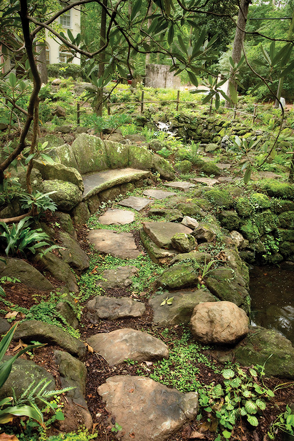 The rock garden at Cator Woolford Gardens