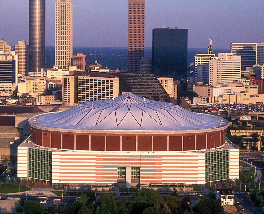 The Georgia Dome S 1992 Debut Atlanta Magazine