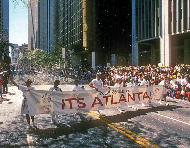 Atlanta's true Olympic legacy: Not brick, mortar, or granite