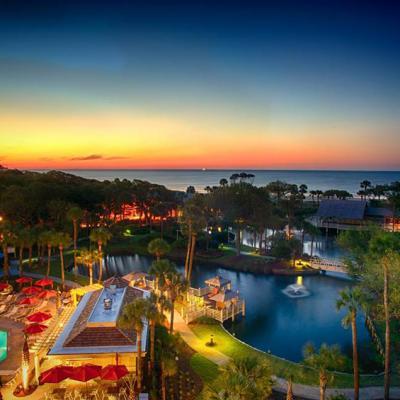 Resort Exterior Sunrise