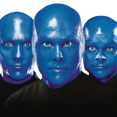 Photograph courtesy of Blue Man Group