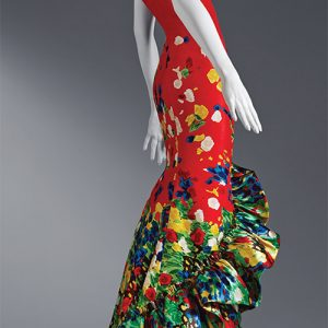 Oscar de la Renta silk faille gown, pre-fall 2008, ready-to-wear