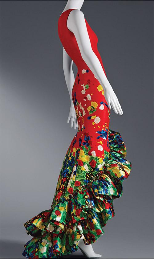 Oscar de la Renta silk faille gown, pre-fall 2008, ready-to-wear