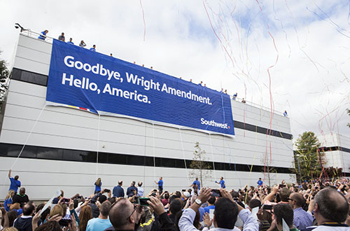 The repealing of the Wright Amendment ushered in cheap, direct flights from Dallas to Atlanta.
