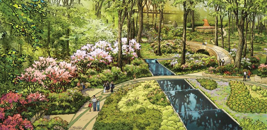 Rendering Courtesy Of Atlanta Botanical Garden