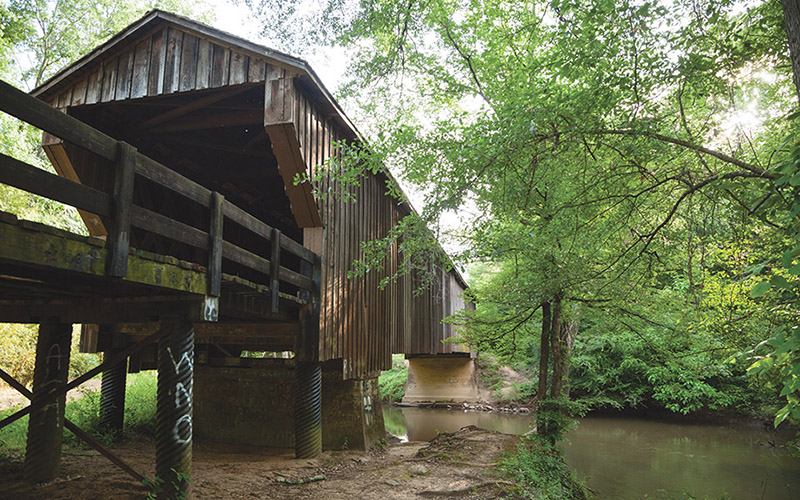 Bridge at Red Oak Creek